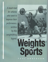 Weights and Sports by Paul Anderson