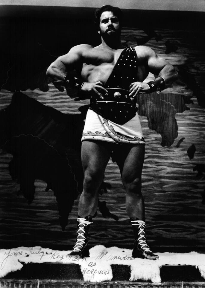 Reg Park as Hercules!
