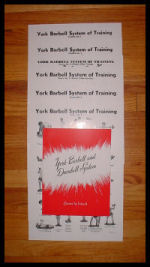 York Barbell and Dumbbell System by Bob Hoffman
